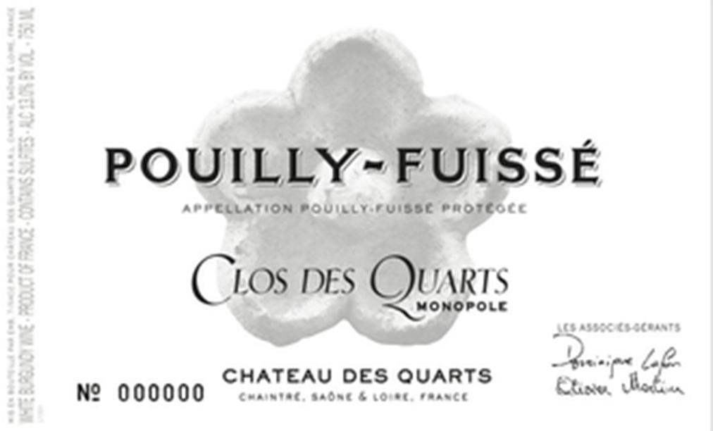 Chateau des Quarts of Pouilly-Fuissé is the combined wisdom of Dominique Lafon and Olivier Merlin
