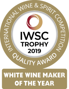 IWSC 2019 White Wine Maker of the Year badge